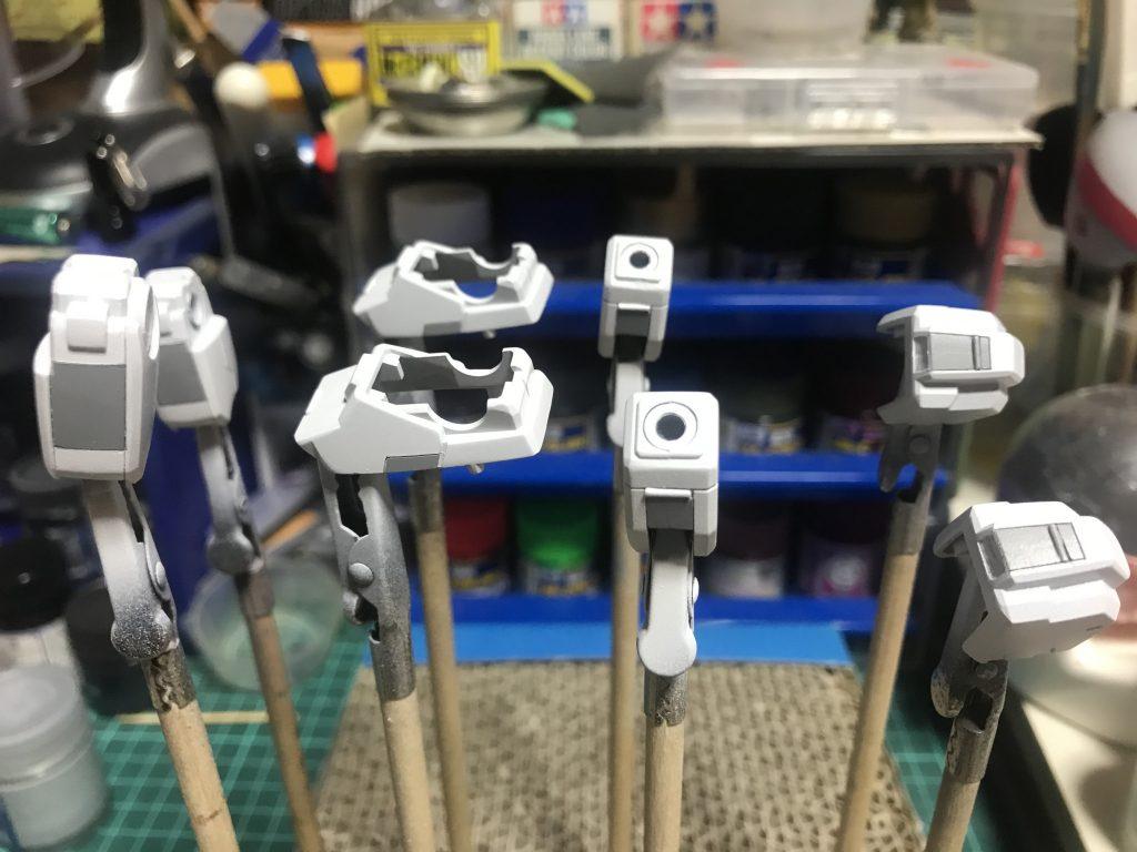 HGUC ガンダムTR-1 ヘイズル・ラー(ヘイズル改+フルドド) 制作工程2