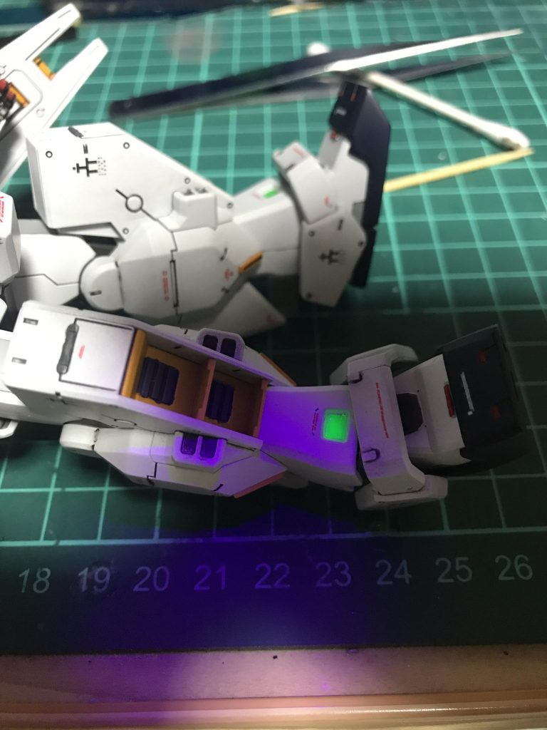 HGUC ガンダムTR-1 ヘイズル・ラー(ヘイズル改+フルドド) 制作工程4
