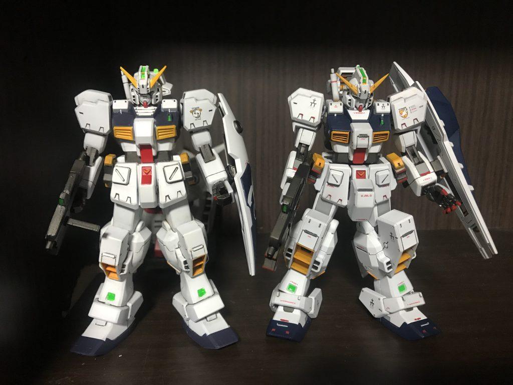 HGUC ガンダムTR-1 ヘイズル・ラー(ヘイズル改+フルドド) アピールショット5