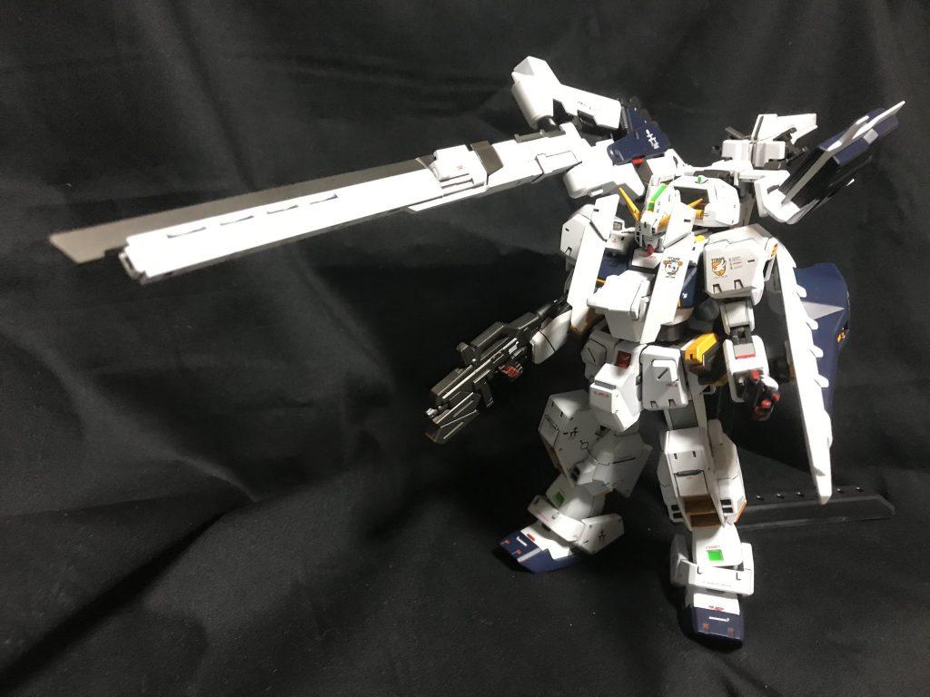 HGUC ガンダムTR-1 ヘイズル・ラー(ヘイズル改+フルドド) アピールショット4