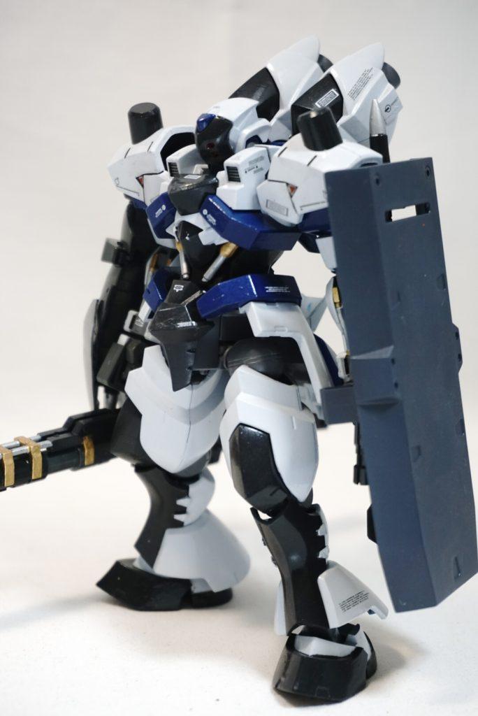 """拠点防衛型機 """"白影"""" アピールショット3"""
