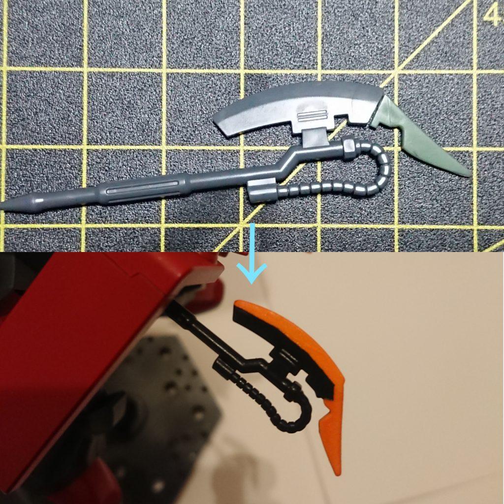 ザク強襲高機動型 制作工程1