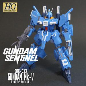HGUC ガンダムMk-V ニューディサイズカラー