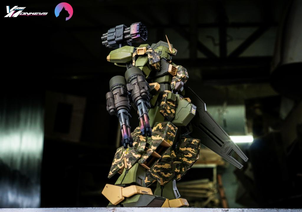 TR-1 Assault (hazel gundam custom) アピールショット2