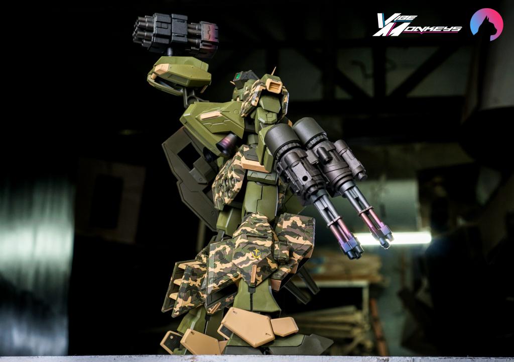 TR-1 Assault (hazel gundam custom) アピールショット3