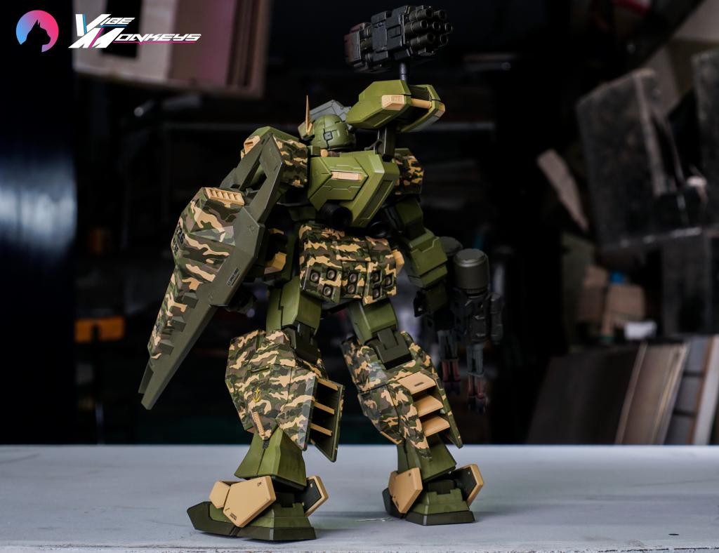 TR-1 Assault (hazel gundam custom) 制作工程1