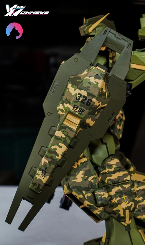TR-1 Assault (hazel gundam custom) 制作工程2