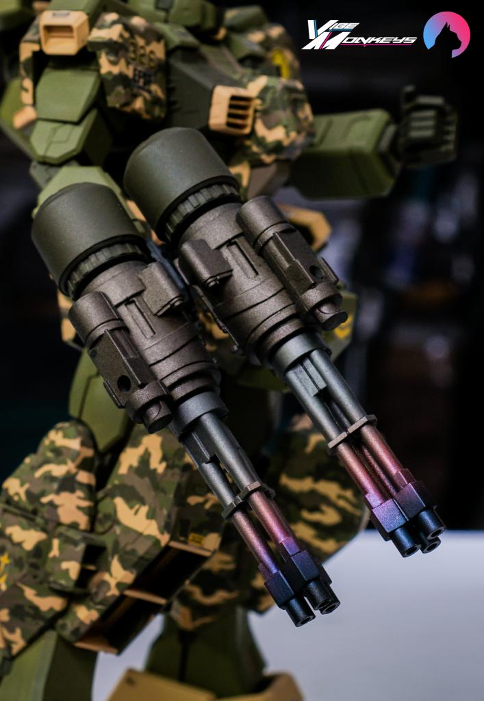TR-1 Assault (hazel gundam custom) 制作工程3