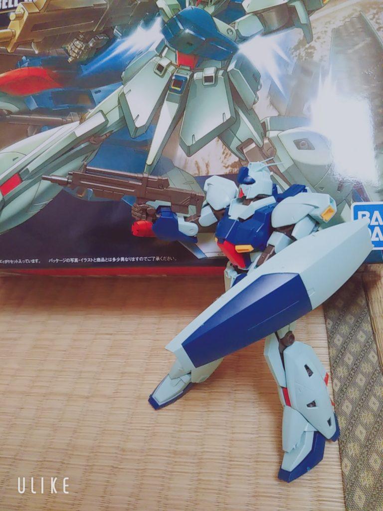 【5歳ガンプラ】HG RGZ-91 Re-GZ アピールショット2