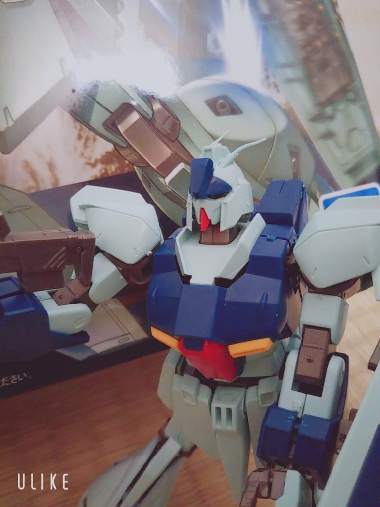 【5歳ガンプラ】HG RGZ-91 Re-GZ