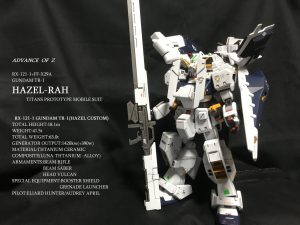 HGUC ガンダムTR-1 ヘイズル・ラー(ヘイズル改+フルドド)