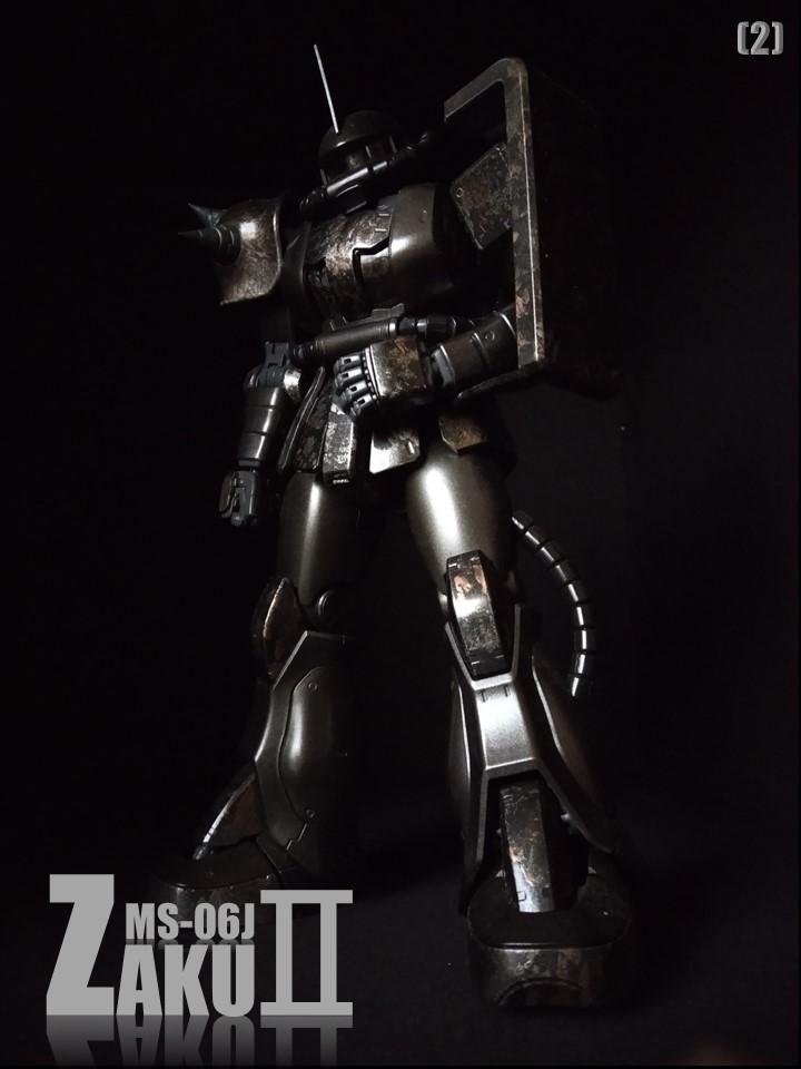 MS-06J ZAKUII No1 アピールショット2