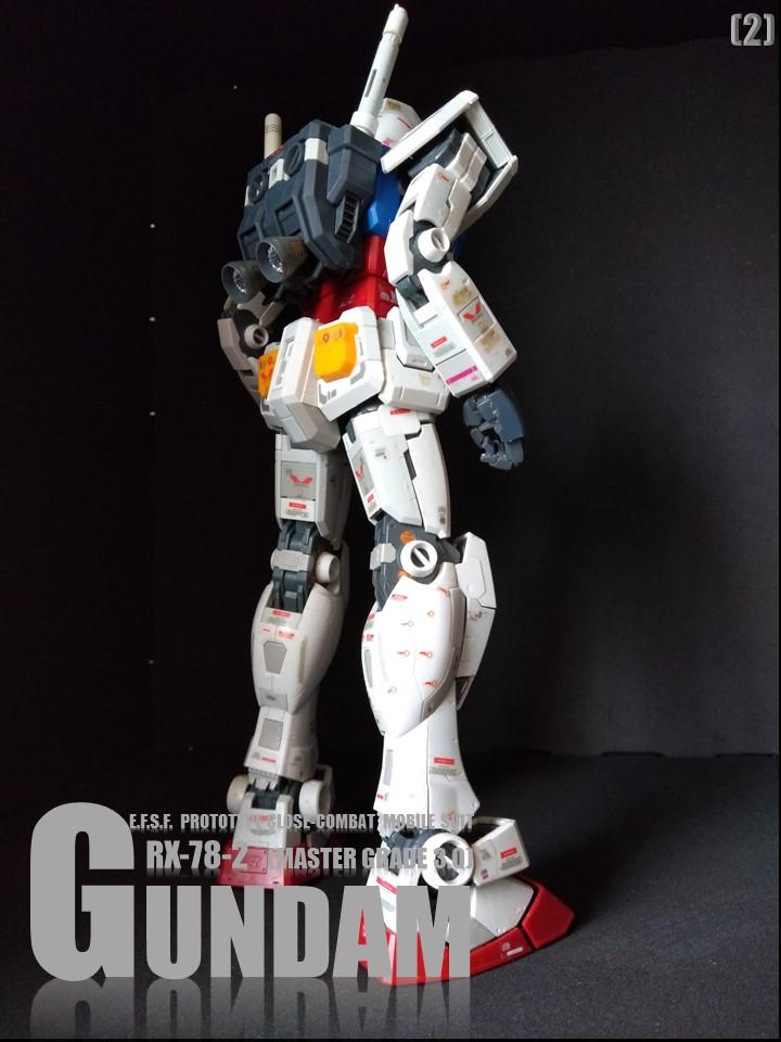 RX-78-2 GUMDAM MASTER GRADE 3.0 No1 アピールショット3