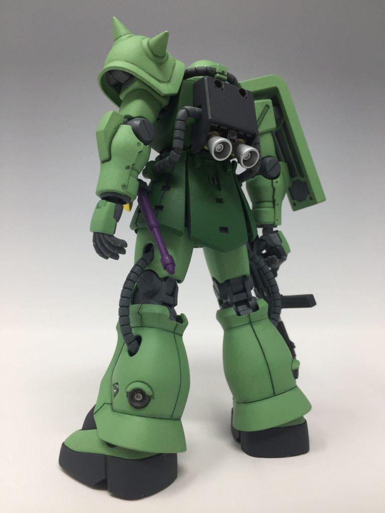 HGUC ザクII F2 ジオン軍仕様 アピールショット4