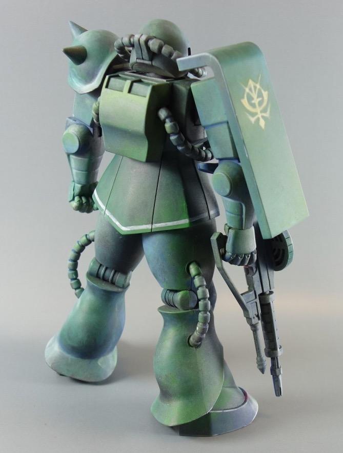 1/100量産型ザク  マキシマムモビルスーツ アピールショット4