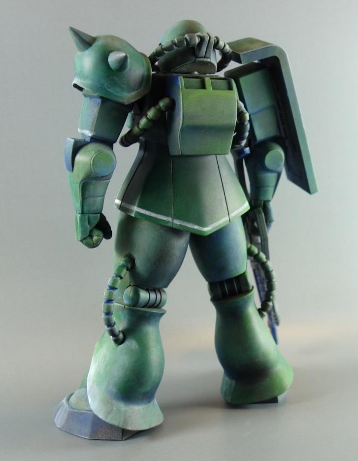1/100量産型ザク  マキシマムモビルスーツ アピールショット5