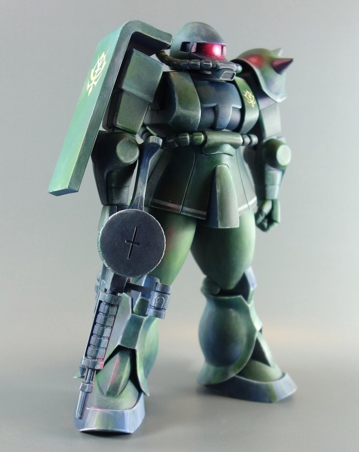 1/100量産型ザク  マキシマムモビルスーツ アピールショット3