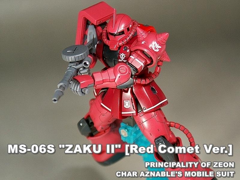 "HG ORIGIN MS-06S ""ZAKU II"""