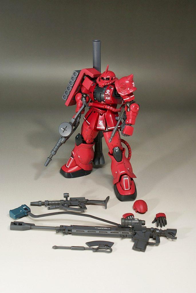 """HG ORIGIN MS-06S """"ZAKU II"""" アピールショット3"""