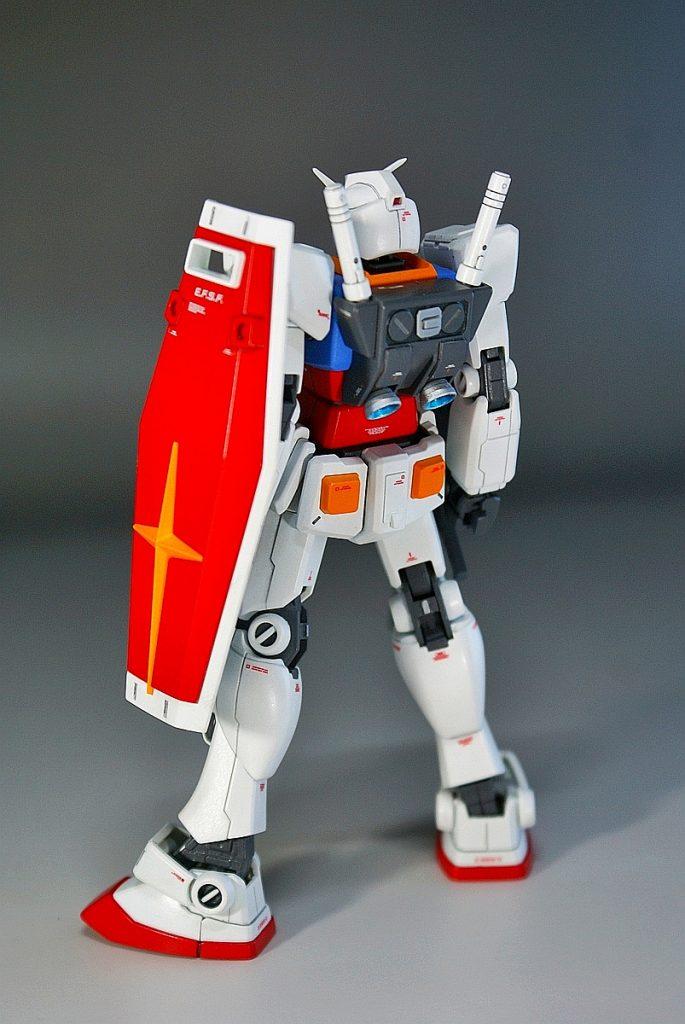 "HGUC RX-78-2 ""GUNDAM"" アピールショット3"