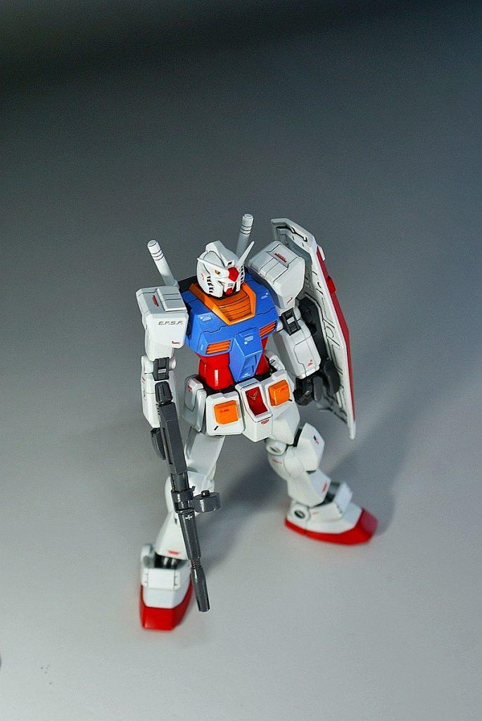 "HGUC RX-78-2 ""GUNDAM"" アピールショット4"