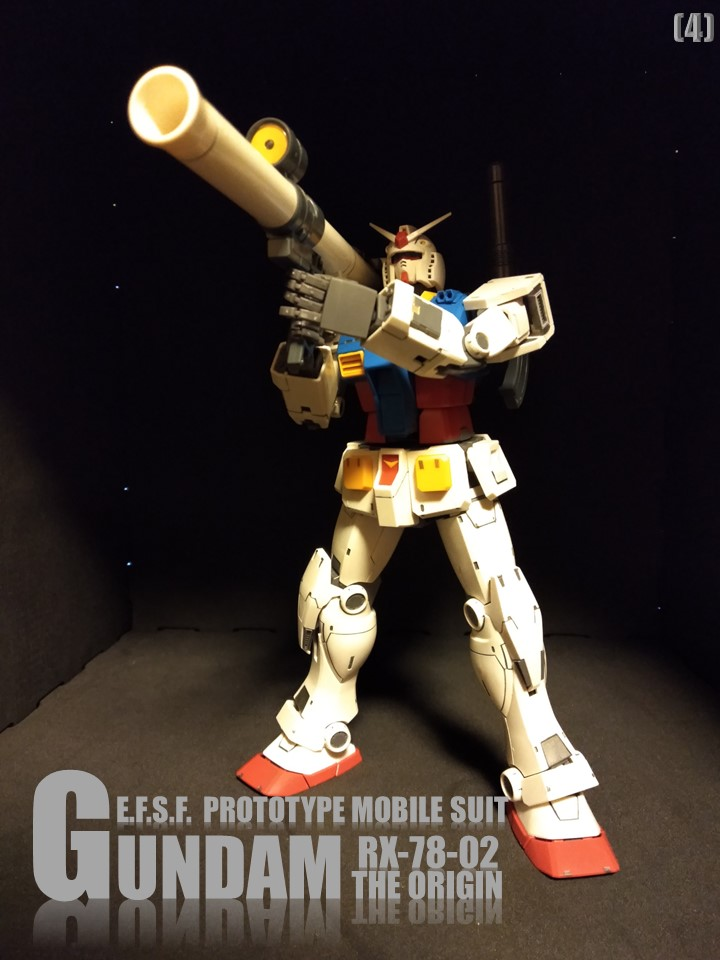 RX-78-02 GUNDAM THE ORIGIN No1 アピールショット4