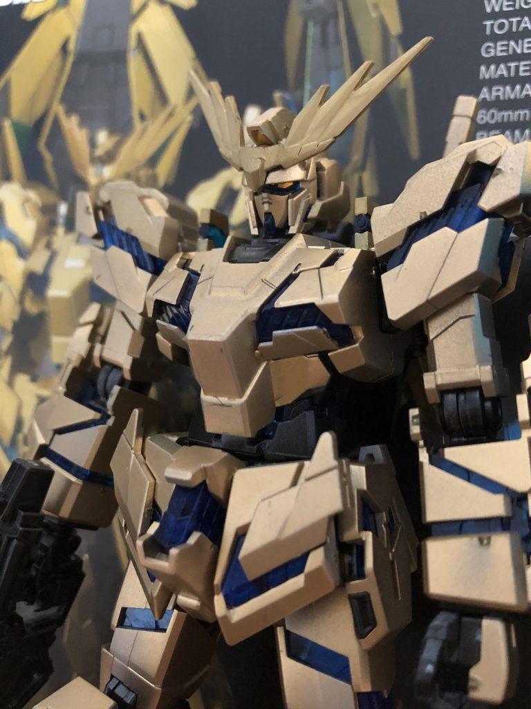 RX-0 ユニコーンガンダム3号機 フェネクス(デストロイモード)(ナラティブVer.)[ゴールドコーティング 制作工程2