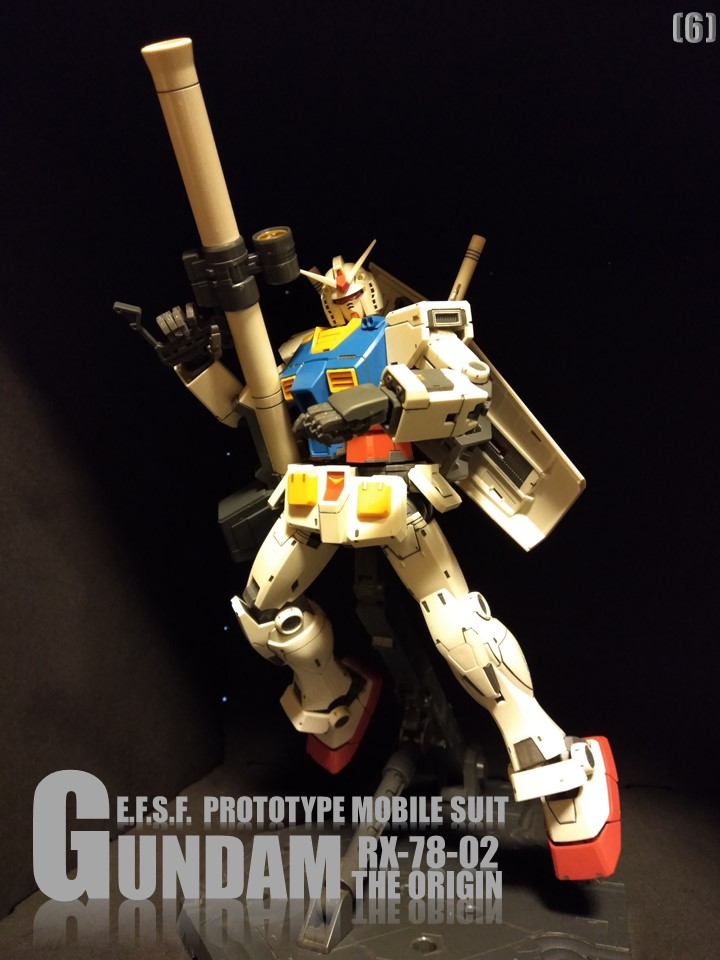 RX-78-02 GUNDAM THE ORIGIN No1 制作工程2