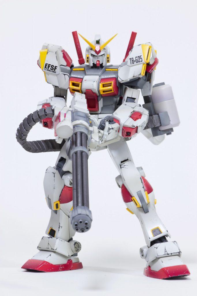 MG 1/100 ガンダム5号機