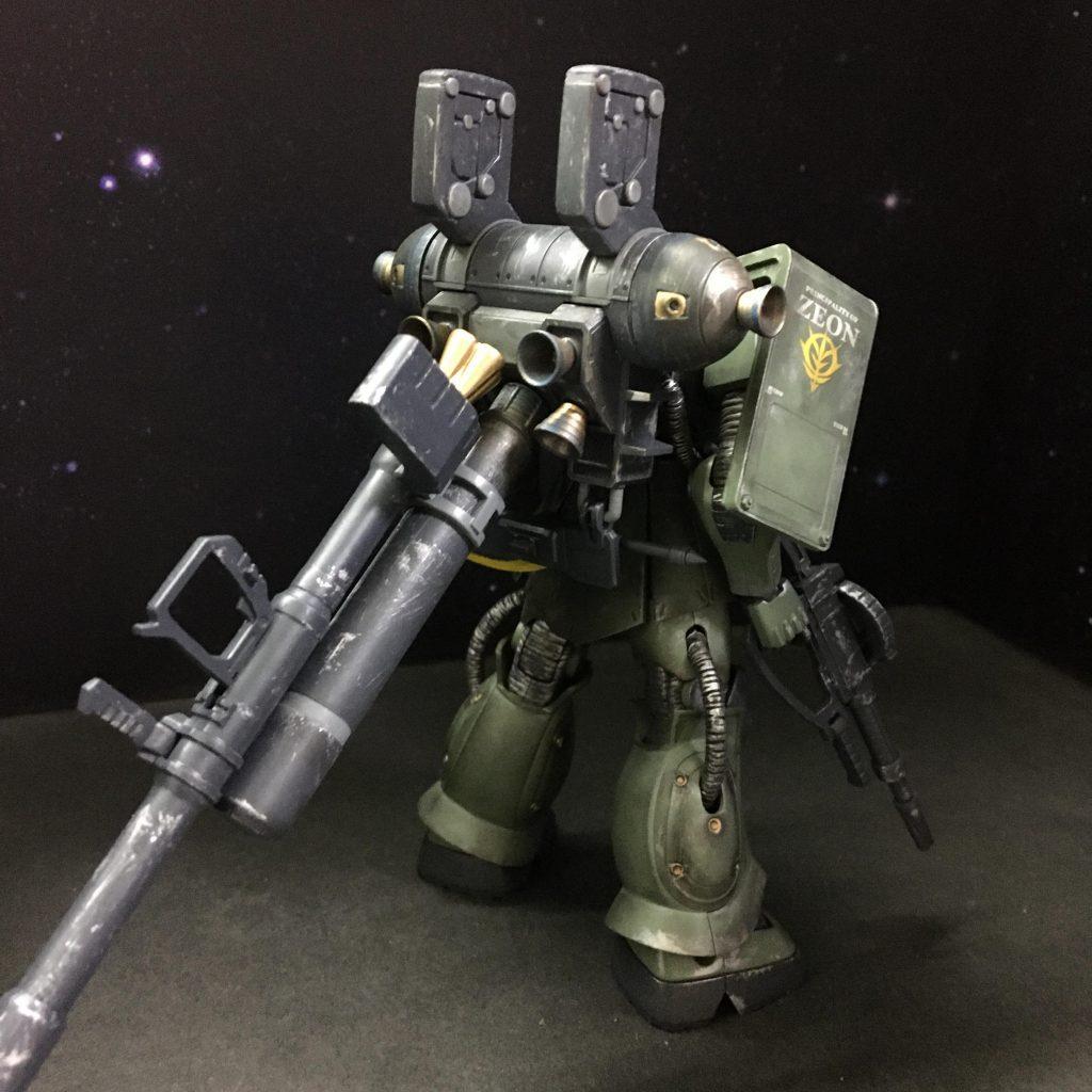 MS-06 量産型ザク+ビッグガン アピールショット2