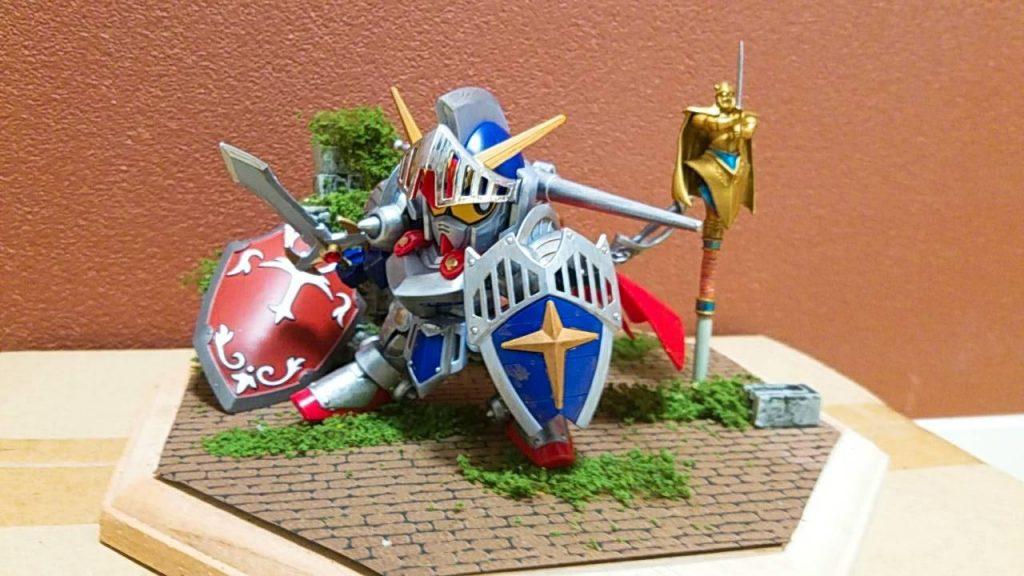 騎士ガンダムのディスプレイを考える アピールショット3