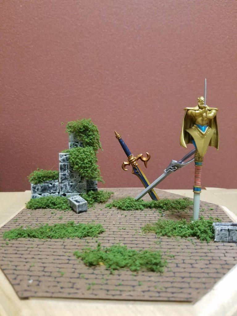 騎士ガンダムのディスプレイを考える アピールショット4