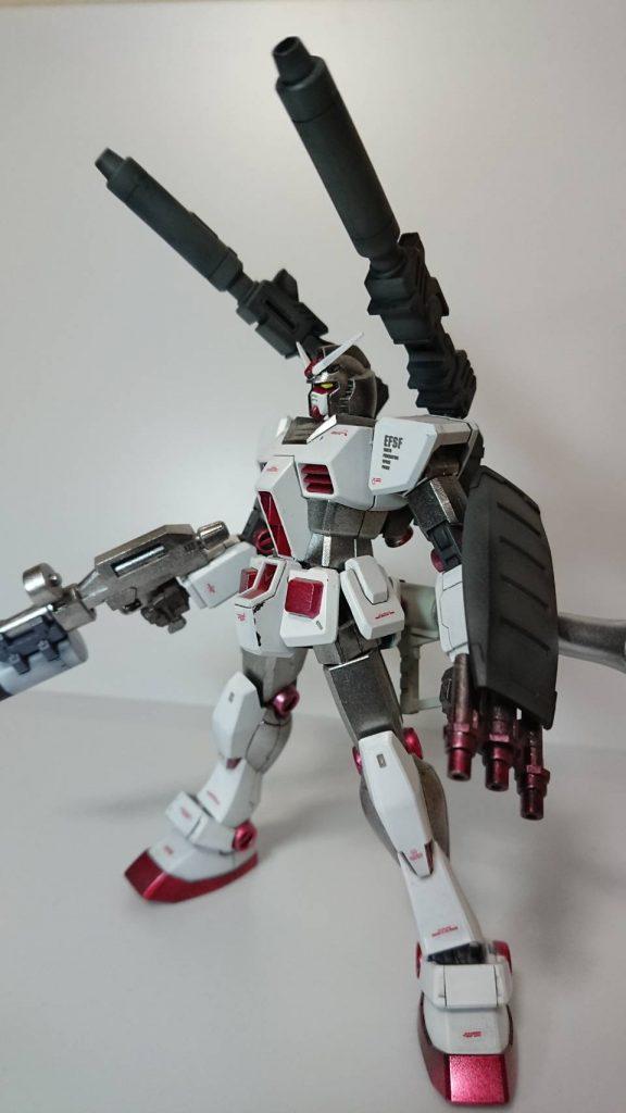 RX -78ガンダム セミアーマー アピールショット3