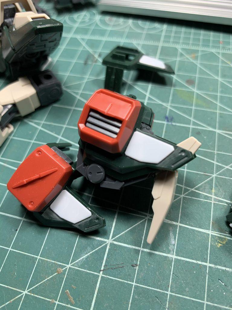 MG バスターガンダム 制作工程1