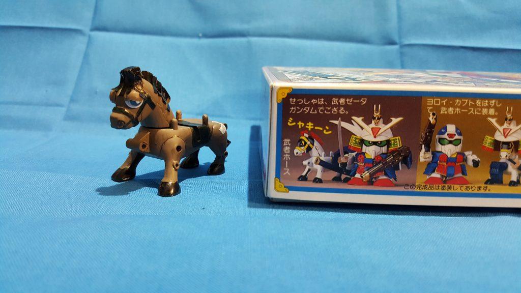 三十石(さんじゅっこく)武者と駄馬 アピールショット1