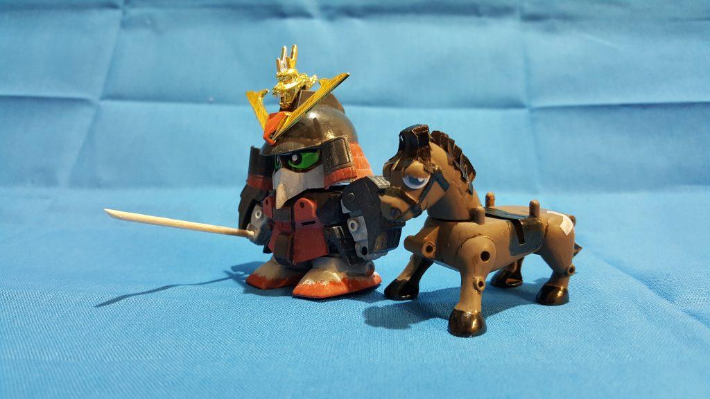 三十石(さんじゅっこく)武者と駄馬 アピールショット3