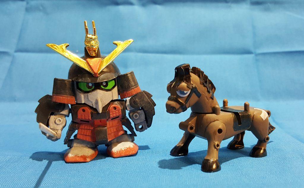 三十石(さんじゅっこく)武者と駄馬