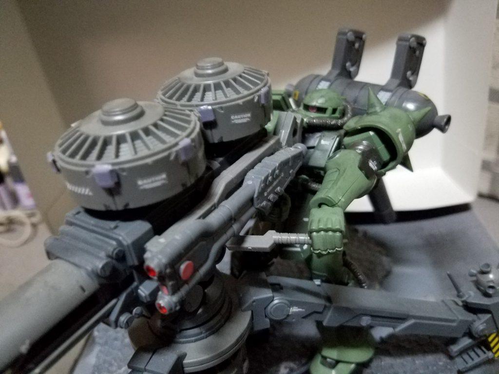 ザク+ビッグガン (サンダーボルトver)
