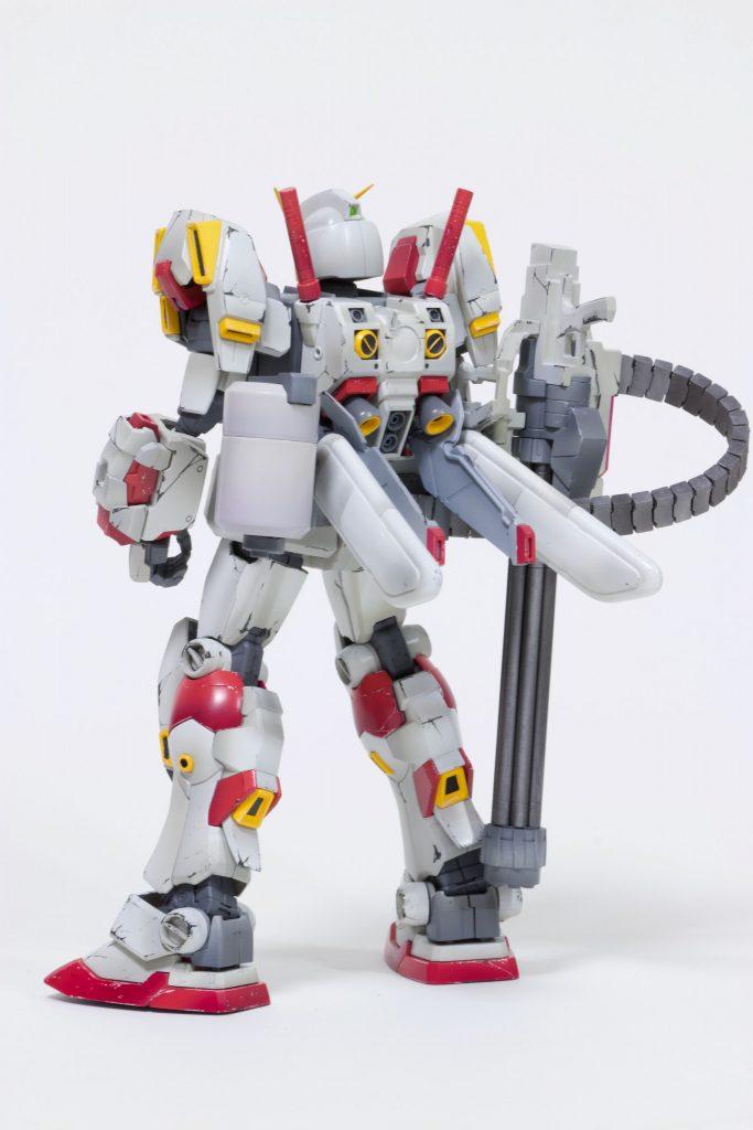 MG 1/100 ガンダム5号機 アピールショット7