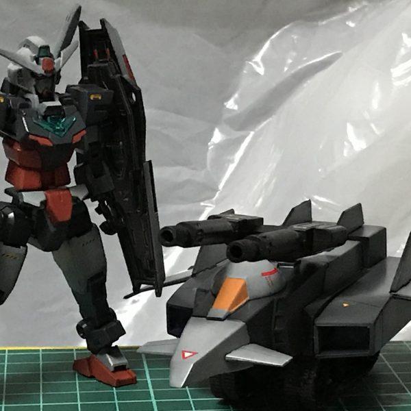 コアガンダム+1/250Gアーマー
