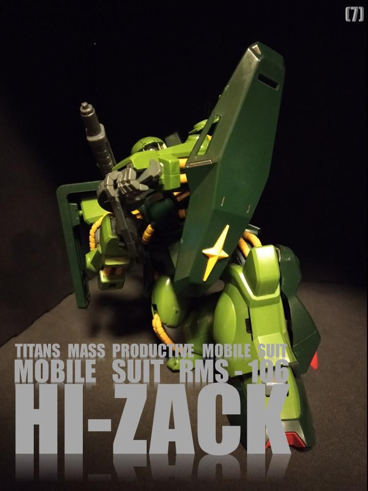 RMS-106 HI-ZACK No1 制作工程3