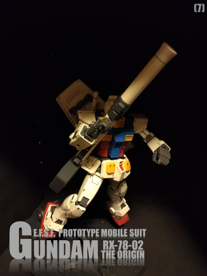 RX-78-02 GUNDAM THE ORIGIN No1 制作工程3
