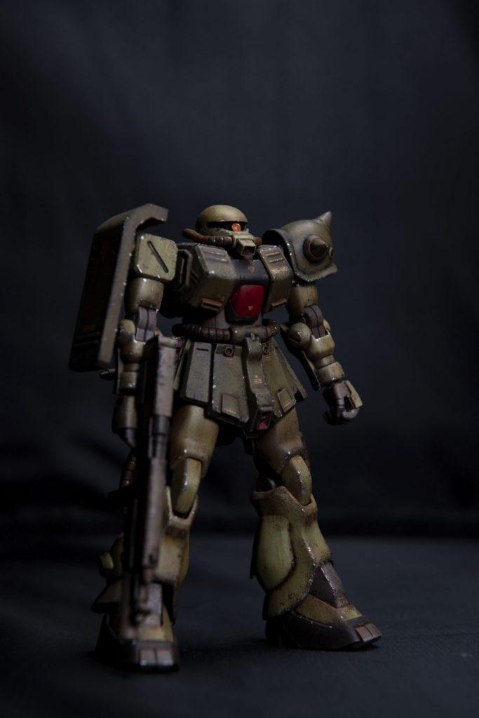 HG ザクⅡ改 アピールショット2