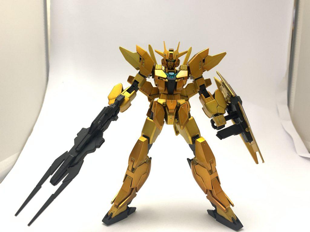 金色ガンダム 制作工程4