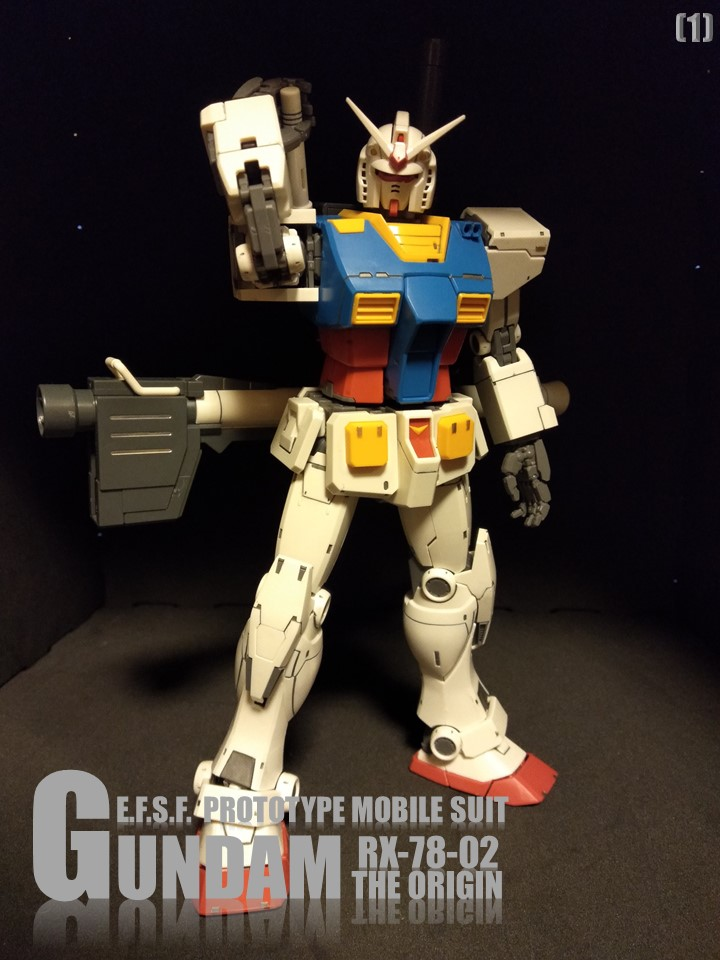 RX-78-02 GUNDAM THE ORIGIN No1 アピールショット1