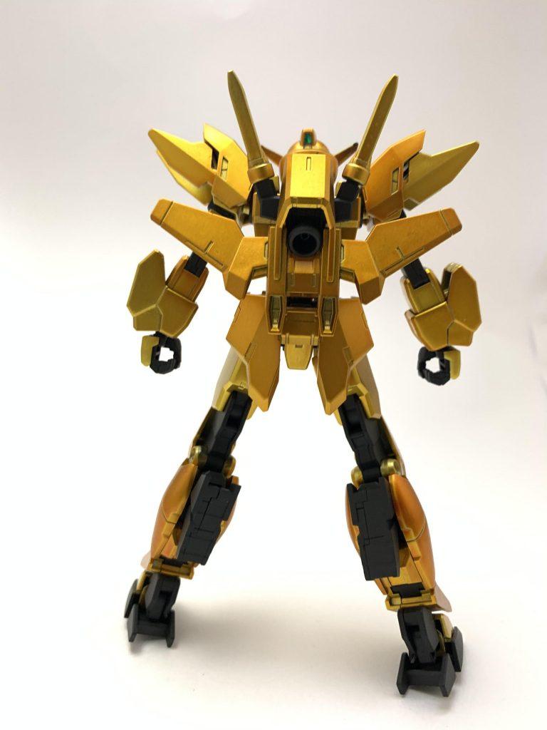 金色ガンダム 制作工程2