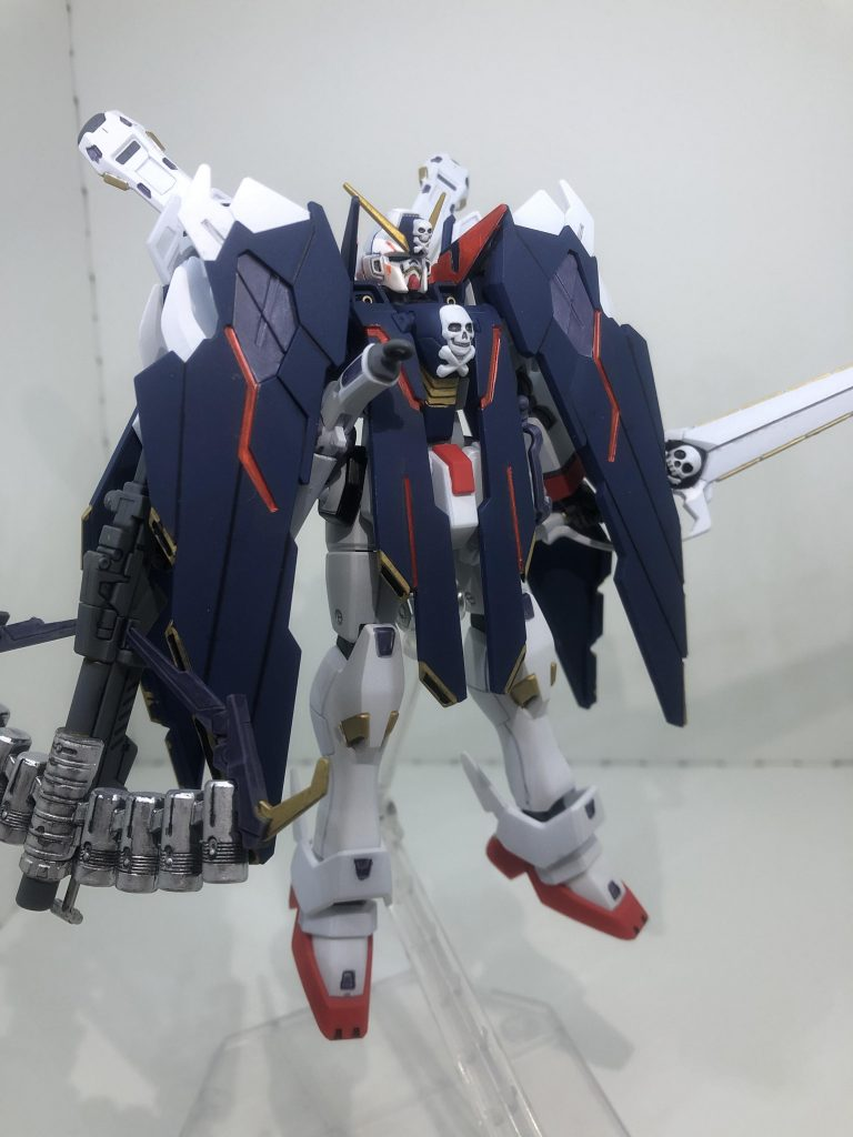 HG クロスボーン・ガンダムX1フルクロス アピールショット1