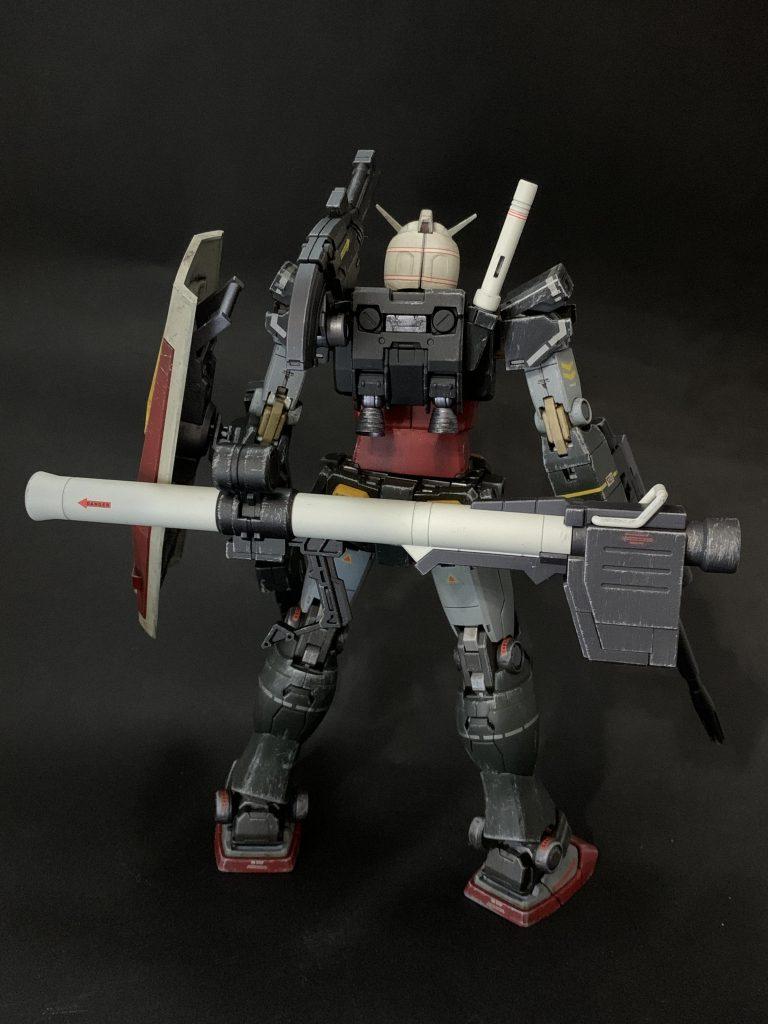 MGオリジンガンダム リアルタイプカラー アピールショット3