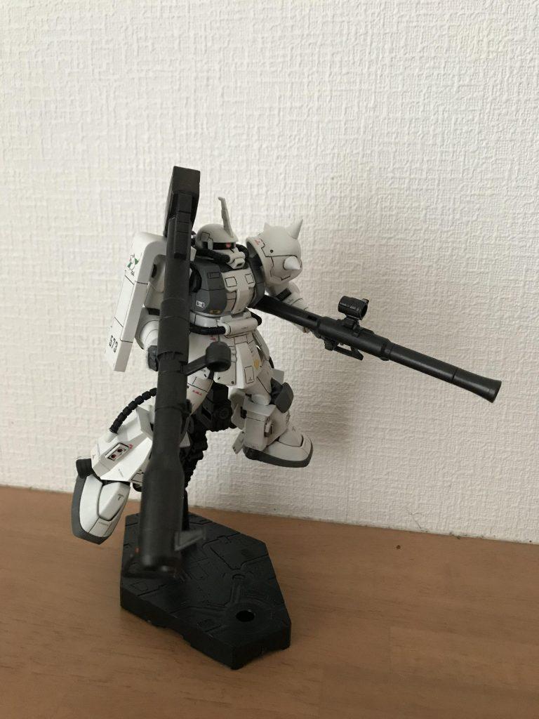 シン・マツナガ専用ザク アピールショット3