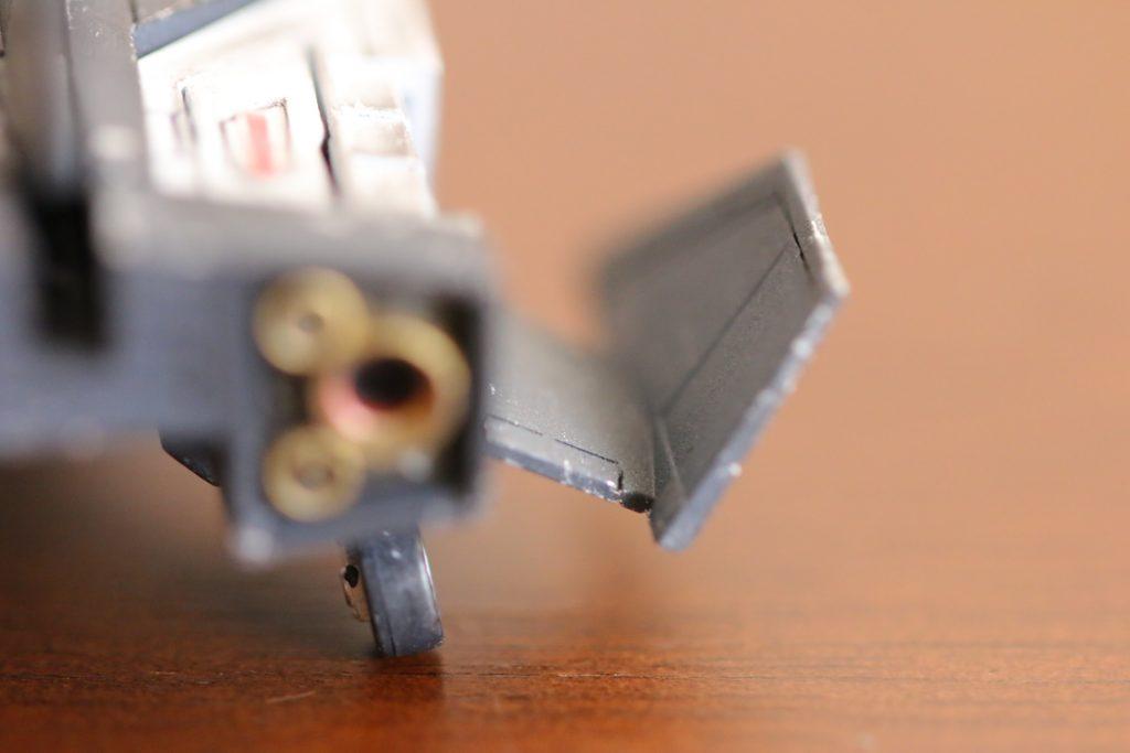MG 1/100 コアファイター (マグノリア・マウンテン隊仕様) 制作工程1